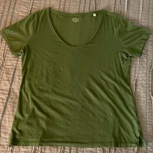 J. Crew V-neck T-shirt